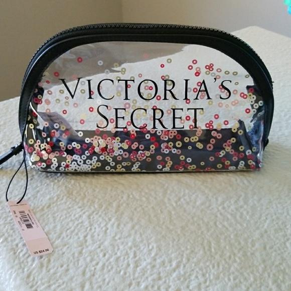 aa4f438fce Victoria s Secret Sparkle Accessory  Make-up bag. NWT